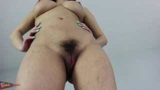 Quiet but Busty Asian Jade Kush Interviews and Shows her Voluptuous Body