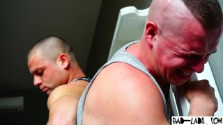 Cute thug begs for mercy when his ass is spanked hard by young master billy