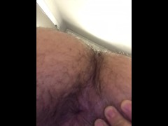 arab gape his ass in public toilet, caught by brother