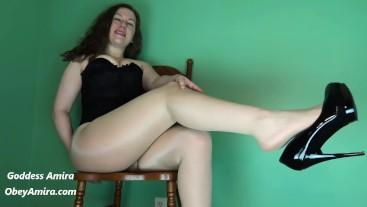 Smell My Pantyhose Feet - Custom