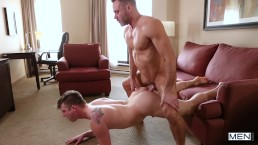 mennetwork-Manuel and Liam enjoy some 1 on 1 pleasing each other's cocks