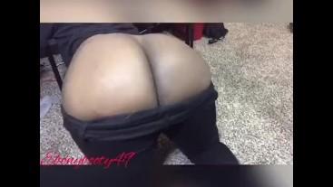 Bubbly black jean farts