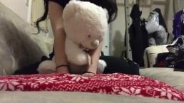 Shy Girl Shows You Her Big Labia