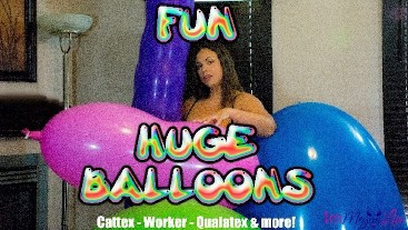 HUGE BALLOONS FUN
