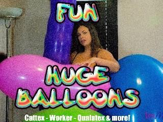 HUGE BALLOONS FUN
