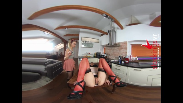 StockingsVR - Victoria Puppy is a bitch with a whip