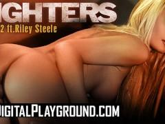 Digitalplayground - Big tit blonde pornstar Riley Steele's gets cum covered