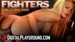 Digitalplayground – Big tit blonde pornstar Riley Steele's gets cum covered