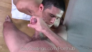 GayCastings Unexpected tasty cock with Latino