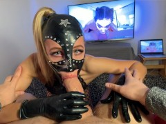 Fucking Hot Alien From Gagging Planet Attacked My Cock. Awesome DeepThroat!