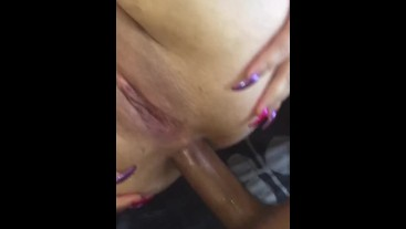 Chubby Slut Loves Getting Her Ass Filled By A Big Cock