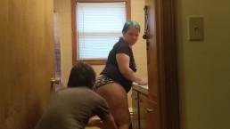 bbw housewife pantsed in heels #AZofPornography