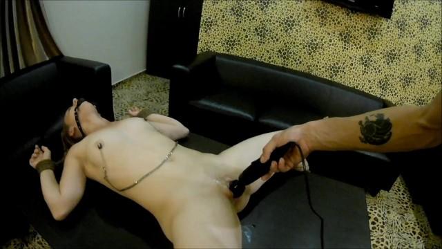 Torture sex sm Bdsm vibrator torture