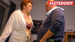 LETSDOEIT - Lonely German Housewife Seduces Worker