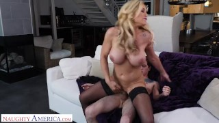 Naughty America Tyler Faith fucks son's friend when hubby cheats