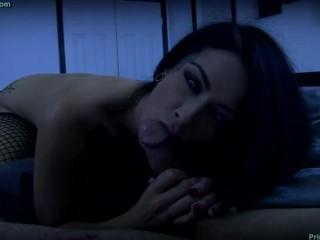 Teen Shaved Creampie Katrina Jade - Vampiric Night Feeding, Babe Brunette Blowjob Cumshot Fetish Han