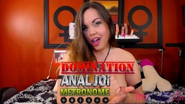 Metronome Anal JOI Domination