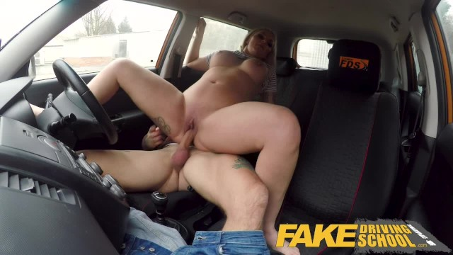 Driving instructor fucks student Fake driving school 2 students have hot backseat sex when instructor leaves