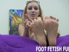 Femdom Foot Massage And POV Foot Fetish Porn