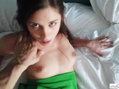 CREAM PIE, Little Caprice - her Beautiful pussy get´s fucked POV dreams