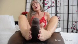 Lady in Red Foot Job TRAILER