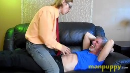 Navel Tickling Interrogation - Elis Ataxxx - Richard Lennox - Manpuppy