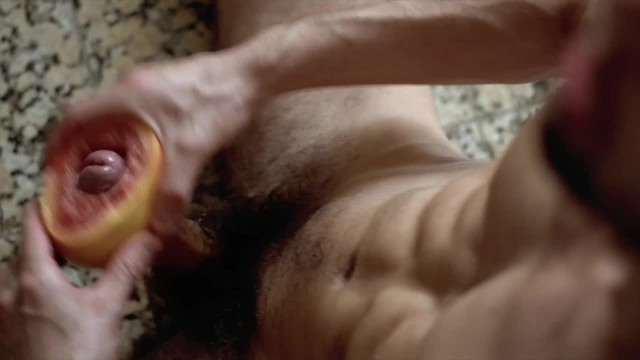 Masturbating techniques for gay guys Anteo chara tests the amazing grapefruit technique