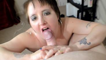 Hot Big Tit Milf Kennedy Channing Blows Big Dick for Amazing Facial PMV POV