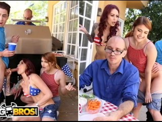 What Is Fission Track Dating Fucking, BANGBROS- 4th Of July Threesome With Monique alexander, adriA Rae & JECl Big Dick