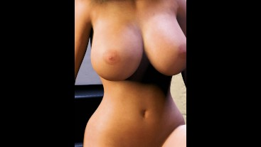 Teen Breast Expansion - Big Boobs Vertical - Hourglass Girl Growing Ass