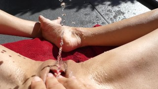 I love it to squirt in the sun pov