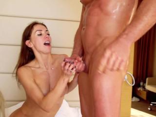Hot Babes Mia Bandini Veronika Charm Share Cock In Intense Threesome Part 2