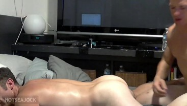 Hungry Daddy Butt Takes RAW BOY COCK (preview)