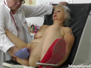 Old/gyno exam/another gyno secretly records doctor