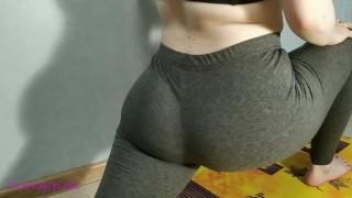 фитнес блонда завелась от еги и дрочнула фалосом клитор и анал порно в хд