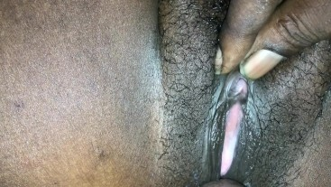 Ebony beauty fucked deeply until she creams (you can hear her gushing )
