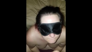 Wife covered in cum after fucking stranger without her husband
