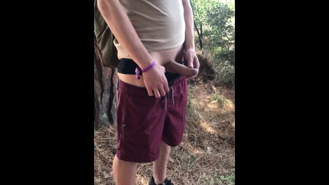 Straight boys trying gay sex - Straight 18yo boy try to pee piss in public