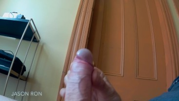 super high cumshot with slo mo replay at end