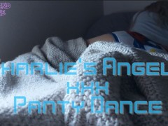 Cute teen panty Dance & shaking suction dildo squirt- xxx parody!!!