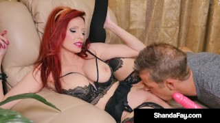 Horny Hot Housewife Shanda Fay Gets Pussy Serviced By Hubby!
