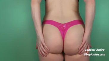 Mini Panty Try On