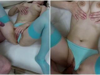 Marathi aunty porn video cum filled panties kink big boobs red thong stockings cum in panties