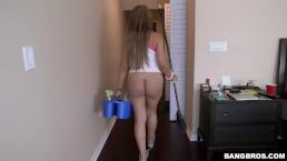 BANGBROS - Big Booty Latina Maid Samantha Bell Taking Dick From Jmac