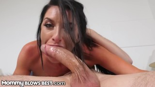 Screen Capture of Video Titled: MommyBlowsBest I'll Suck Ur Dick If you Call me Step-Mommy!