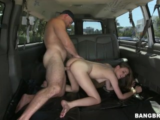 In Fucked Ass Videos Bangbros - Shy Amateur, Ashton Pierce, Gets Plowed On The Bang Bus
