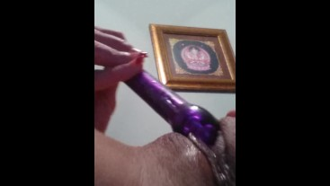 Playing with my pussy till I squirt