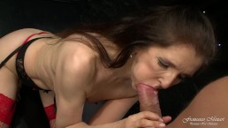Old slut fucked by a young cock