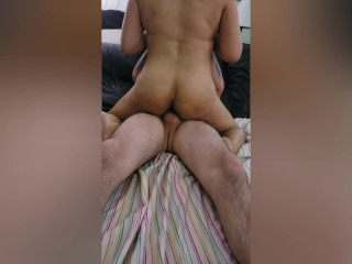homemade 3some: Bf shares gf w/best friend & he just cant get enough!!