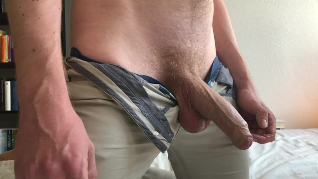 Do male dogs still cum if they are neutered Got horny and helped myself while still in pants - jerking off - cumshot